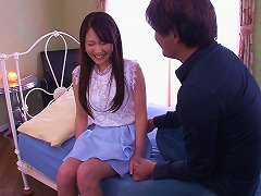 Cutest Asian Babe Lets The Guy Give Her A Prone Bone Treatment