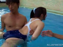 Iroha Sagara Gets Seduced And Fucked By Her Swim Coach