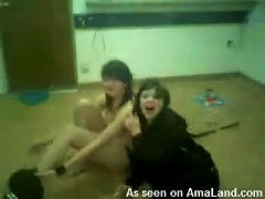 Two Drunk Teens Dance And Let Their Classmate Film Them