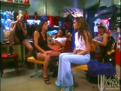 Cougar Hotties' Wet And Wild Pussy In Hard Lesbian Masturbation And Anal Toying