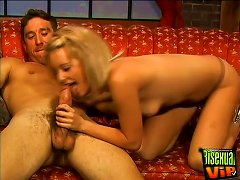 Michelle Sweet Deepthroats And Gets Lots Of Pussy Action In Bisexual Thresome