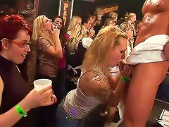 Thumping Music In Hardcore Club