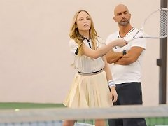 Aubrey Star Tennis Student Gets Ass Sex Lesson