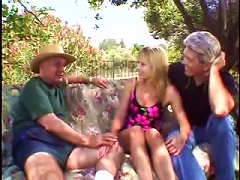 Retro Outdoors  For Blonde Milf Julie Young