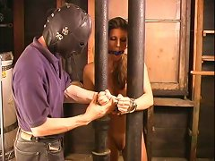 Tits Bondage And Some Painful Twitching For Shay