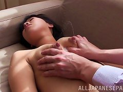 Sleeping Japanese Babe Getting Fingered Erotically In A Closeup