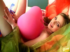 Big Balloon Tits And Toy Sex