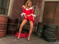 Dear Santa I Would Love A Bigger Dildo For Christmas