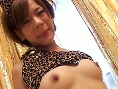 Pretty Slick Asian Model Shows Her