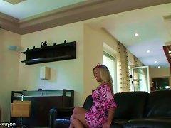 Bettina Dicapri And Sunny Diamond Share A Cock In Backstage Porn Vid