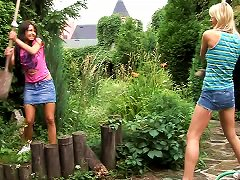 Fabulous Outdoors Encounter Featuring Two Dirty-minded Lesbians Having Sex