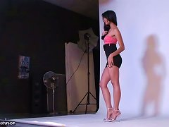 Behind The Scenes Action With Larissa Dee And Ruth Medina