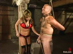 Playing With Ropes Could Be Fun, Wait And See What This Dominatrix Has In Mind!