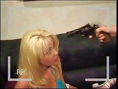 Blond Gets Her Teen Twat Rammed