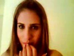 Greek Hot Slut Teen Masturbates Until Orgasm