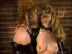 Vintage Porn Bondage Lesbians In Leather Satisfying Each Other