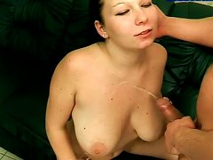 Chubby Teen Amateur Hooker With Saggy Boobs Is Sucking Cock In Pov