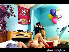 Birthday Sex With GF
