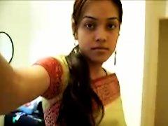 Cute Desi Teen Strips On Cam