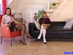 British MILF Spanked And Fingered By Teen