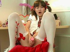 Asian Teen Aliona Is Masturbating So Freaking Cutie