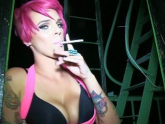 Sultry Punk Getting Her Tight Anal Jammed In POV Shoot
