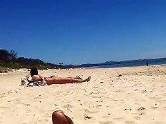 Flashing Teens At Clothed Beach #1