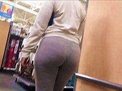 Thick Yoga Pants Booty