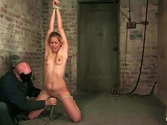 Spanking And Toying Tied Up Beauty Isis Love In Bdsm Clip
