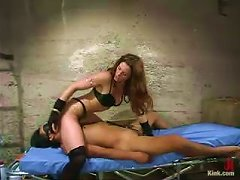 Sexy Motherfucker Plays Femdom Games With A Young Submissive Bastard!
