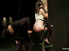 Wax And Device Torture For Beautiful Babe Lindy Lane In Bdsm Vid