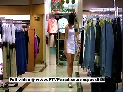 Pleasant Stunning Woman In A  Store