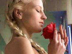 Alysha A - Metart Model Rose Bath