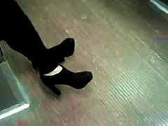 High Heels Teen In Ankle Boots