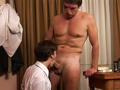 Boss Fucks His Young Worker In The  Right In The Office